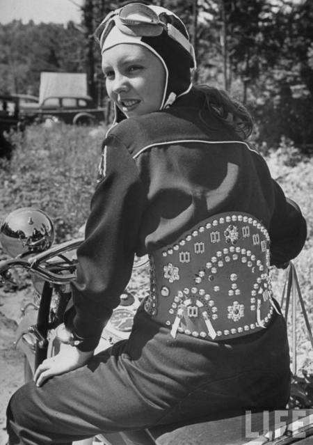 Has motorcycle fashion changed much?