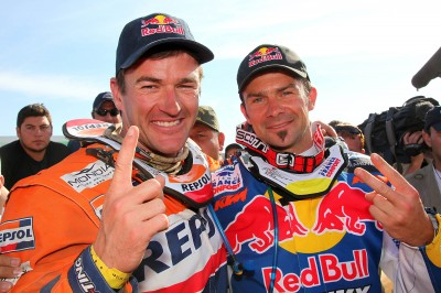 Coma and Despres show their final positions in the 2009 Dakar Rally / Chaco