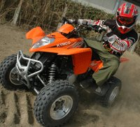 ATV testing in Kaohsiung