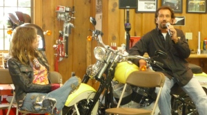 Tyler and Talarico explain Dirico Motorcycles.